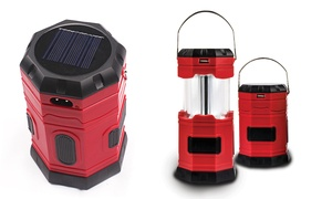 Pop-Up Four-Way Powered Solar Lantern with USB Charger at Pop-Up Four-Way Powered Solar Lantern with USB Charger, plus 6.0% Cash Back from Ebates.