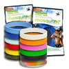 Mosquitno All-Natural Mosquito-Repellent Wristbands (5-Pack)
