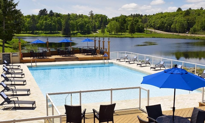 null - Toronto (GTA): Stay with Optional Spa or Golf Credit at Pinestone Resort, Conference Centre & Golf Course in Haliburton, ON