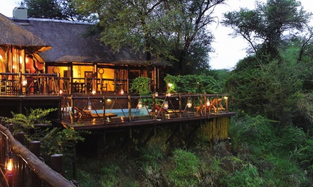 North West: One to ThreeNight Stay for Two Including Meals and Two Game Activities at Madikwe River Lodge