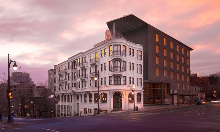 Stay at Hotel 10 in Montreal, QC, with Dates into May