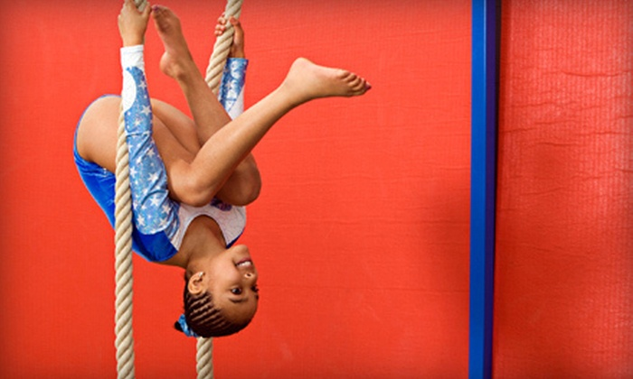 GYMTEX - Lakefield: Four or Eight Kids' Gymnastic Classes with Open-Play Sessions or 90-Minute Party for Up to 17 at Gymtex (Up to 71% Off)