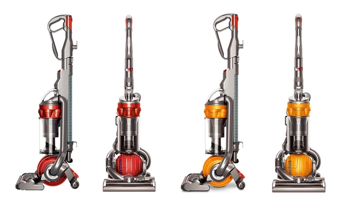 dyson dc25 multifloor upright ball vacuum groupon. Black Bedroom Furniture Sets. Home Design Ideas