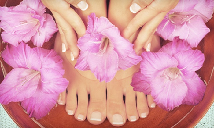 Nails by Justina - Braun's Farm: Shellac Mani-Pedi, Spa Pedi, or Shellac Spa Mani-Pedi at Nails by Justina (Up to 59% Off)