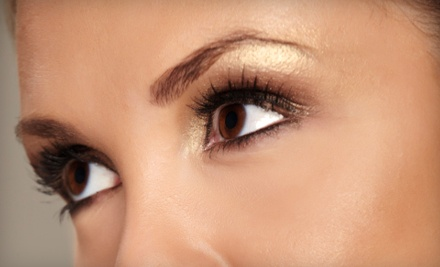 Permanent Makeup for Upper or Lower Eyelids, Eyebrows, or Upper and Lower Eyelids at Pikes Peak Tattoo (Up to 51% Off)