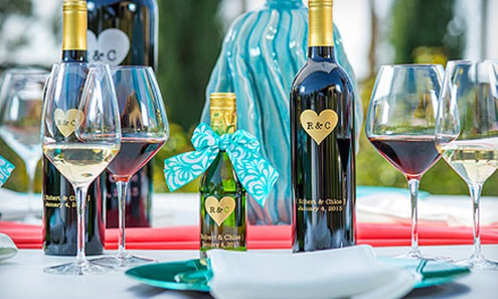 Miramonte Winery: One, Two, Three, or Six Custom-Engraved Bottles of Wine from Miramonte Winery (Up to 55% Off)