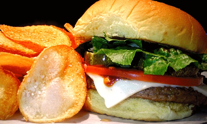 Beta Burger - Mission Hill: $12.99 for Three Groupons, Each Good for $7 Worth of Food and Drink at Beta Burger ($21 Value)