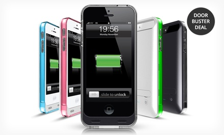 Mota iPhone 5/5s MFI Battery Case. Multiple Colors Available.
