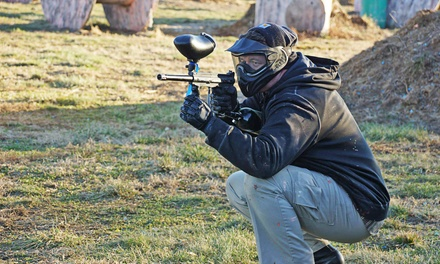All-Day Paintballing with Gear Rental for One, Two, Four, or Six at Bing Field Paintball & Airsoft Park (47% Off)