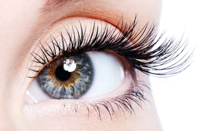 Mink Eyelash Extensions with Option for Touch-Up at Blushbaby (Up to 47% Off)
