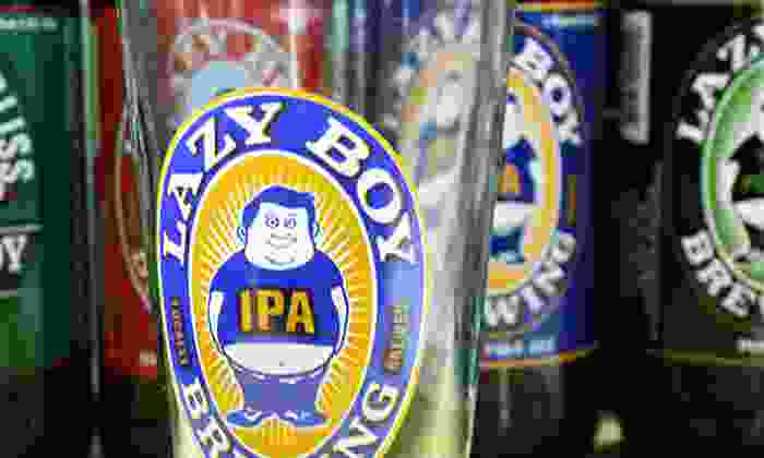 Lazy Boy Brewing - Lazy Boy Brewing: Shared Tasting for Two or Four with Take Home Growlers at Lazy Boy Brewing (Up to 50% Off)