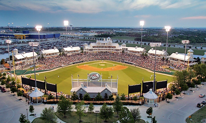 Frisco RoughRiders vs. Arkansas Travelers - Dr. Pepper Ballpark: $15 for One Ticket to the Frisco RoughRiders Opening Day Game Plus a Hot Dog and Soda on April 9 ($33.63 Value)