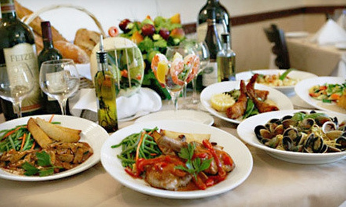 Bellissimo Ristorante Italiano - Amityville: Italian Fare and Drinks for Two or Four or More at Bellissimo Ristorante Italiano in Amityville (Up to 58% Off)