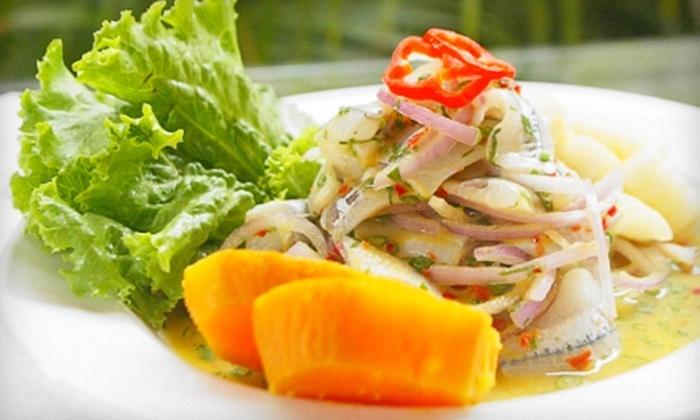La Cocina de Dona Luz - Wychwood: Three-Course Peruvian Meal for Two or Four at La Cocina de Doña Luz (Up to 55% Off)