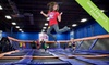Sky Zone Riverside - West Riverside: Two-Hour Open-Jump Sessions for Two or Birthday Package for up to 20 at Sky Zone Riverside (Up to 58% Off)
