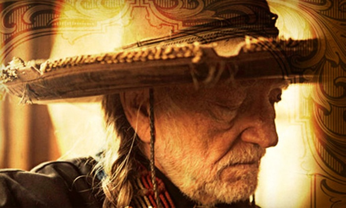 Willie Nelson and Aaron Lewis - Chastain Park Amphitheatre: Willie Nelson and Aaron Lewis at Chastain Park Amphitheatre on Saturday, May 4, at 8 p.m. (Up to $ 74.40 Value)
