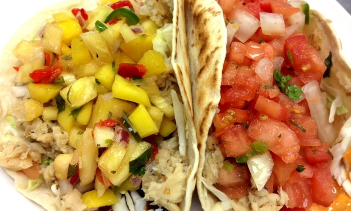 Monon Food Company - Broad Ripple: Gourmet Tacos and Soft Drinks for Two or Four at Monon Food Company (Up to 53% Off)