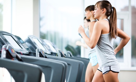 One- or Three-Month Gym Membership with Unlimited Group Classes and Tanning at Anytime Fitness (Up to 65% Off)