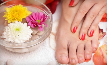 Basic Facial with a Regular Mani-Pedi (a $55 value) - Marketti Academy of Cosmetology in Waterford