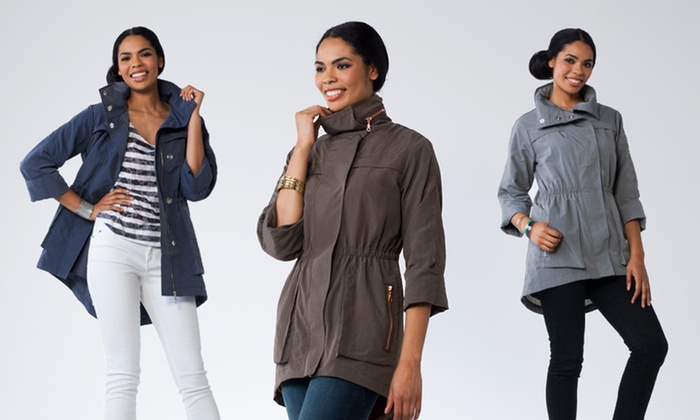 G.E.T. Women's Anorak Jackets: $29.99 for a G.E.T. Women's Anorak Jacket ($128 List Price). 14 Colors Available. Free Shipping and Returns.