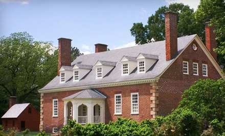 Home and Grounds Visit for Two or Five Adults at Gunston Hall (Up to Half Off)