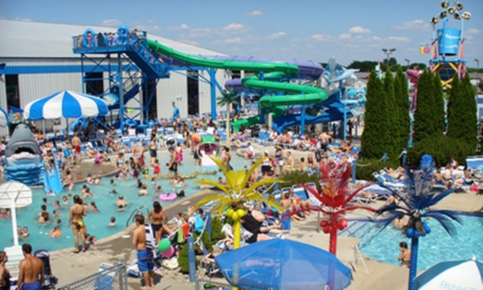 Dolphin's Cove Water Park - Sun Prairie: Water-Park Outing for Up to Four or Six at Dolphins Cove (Up to 55% Off)