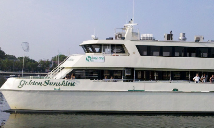 Golden Sunshine - Brooklyn: $99 for a 4th of July Cruise with Full Buffet, DJ, and Cash Bar from Golden Sunshine ($165 Value)