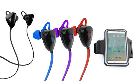 JLab Sport Bluetooth Earbuds & Armband