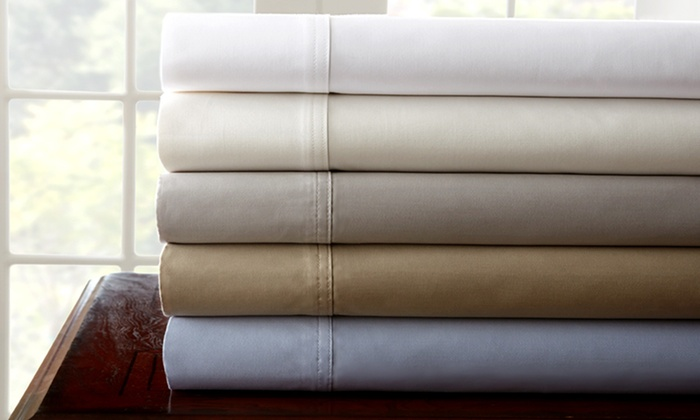1,000 Thread Count 100% Egyptian Cotton Sheet Sets: $99.99 for Pacific Coast Textiles Egyptian-Cotton Sheets (Up to $340 List Price). 5 Colors. Free Shipping and Returns.