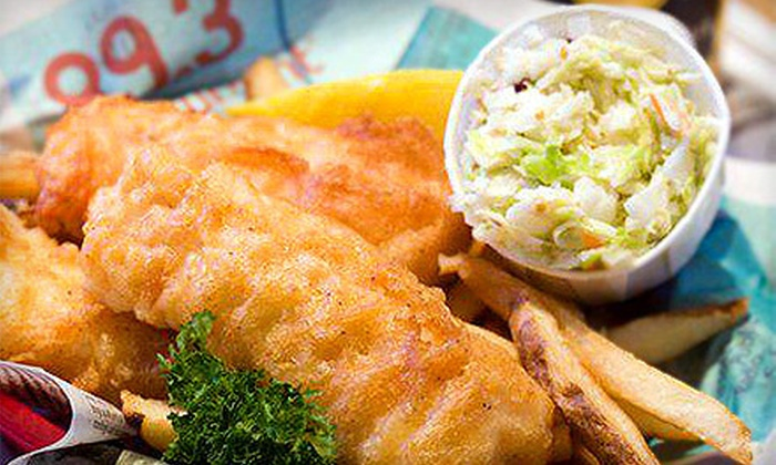 Molly Cool's Seafood Tavern - Kilbourn Town: Seafood and Drinks at Molly Cool's Seafood Tavern (Half Off). Two Options Available.