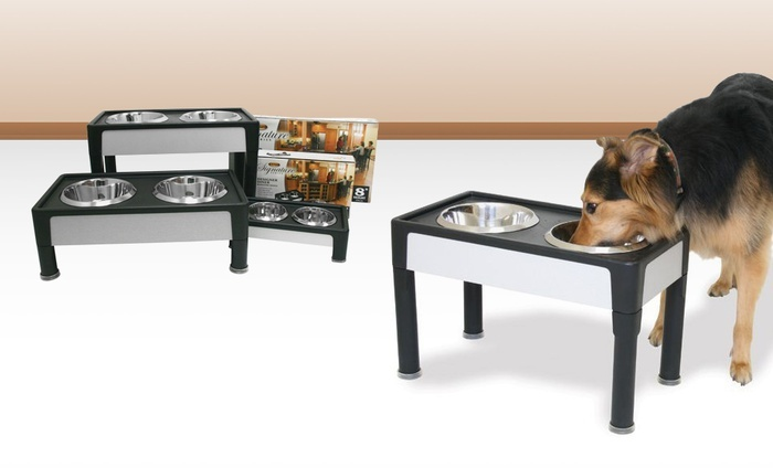 Signature Series Diner Dog Bowl Stand. Multiple Options Available from $17.99-$34.99. Free Returns