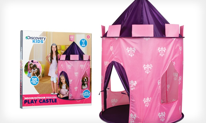 Discovery Kids Toy Tent Princess Castle Discovery Kids Toy Tent Princess Castle : princess pop up tent - memphite.com