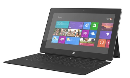Microsoft Surface 64GB Tablet with Black Touch Cover