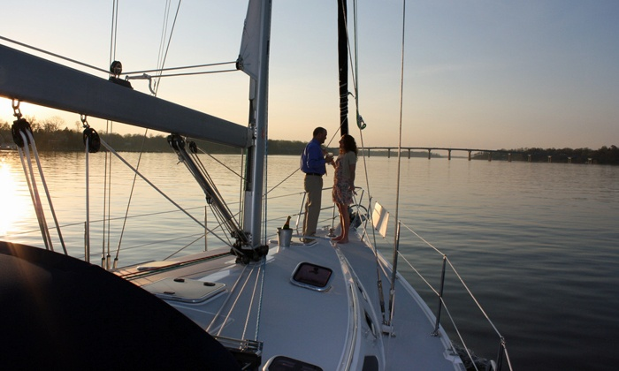 Classic Sail Charters - Coconut Grove,Ocean View Heights: Private Sunset or Evening Sailing Cruise for Two, Four, or Six at Classic Sail Charters (Up to 50% Off)