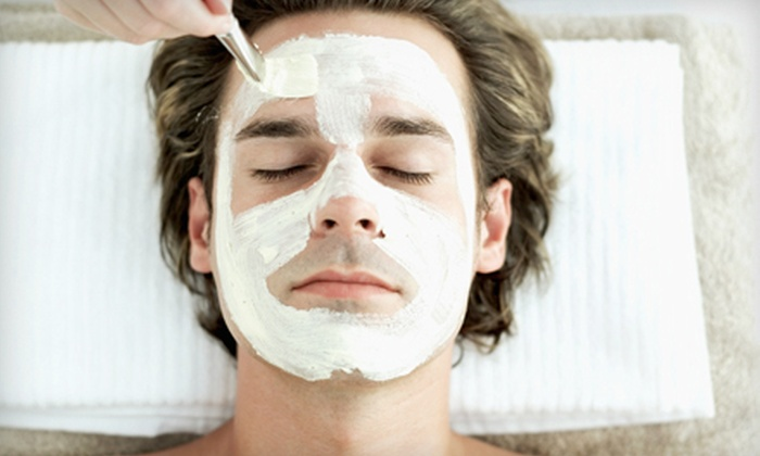 SkinPlicity - Johnston: $50 for a Pevonia Men's Anti-Aging Facial with a Brow Trim at SkinPlicity ($110 Value)