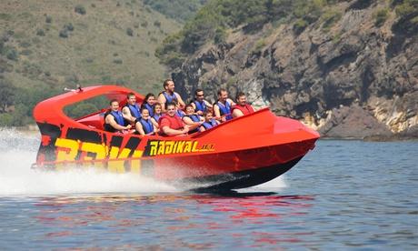 Experiencia en jet boat para hasta 11 personas desde 34 € en Adeje