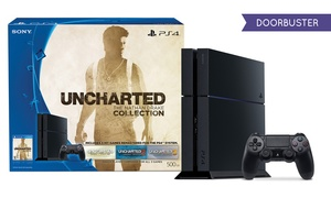 Sony Playstation4 500gb Console With Uncharted: The Nathan Drake Collection