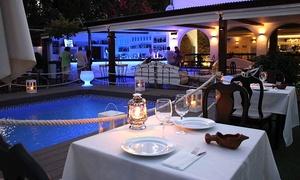 Isla Coveta: Menú para 2 o 4 con aperitivo, entrante frío, entrante, principal, postre y botella de vino desde 29,95 € en Isla Coveta