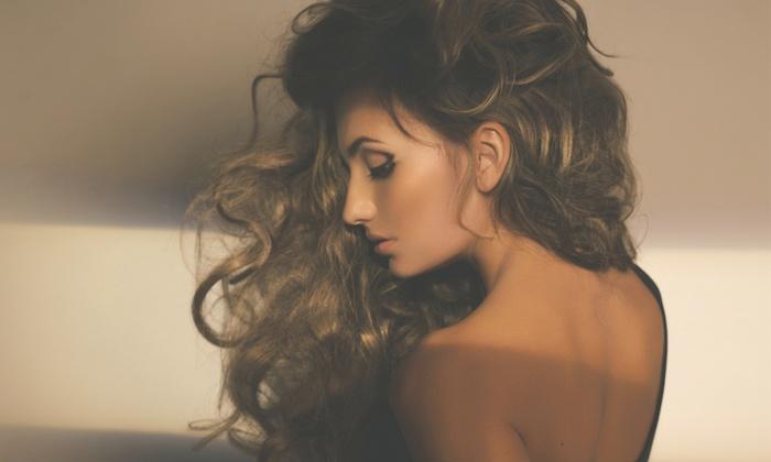 Suzi Mari Salon - Juno Ridge: Haircut with Optional Partial or Full Highlights, or Keratin Treatment at Suzi Mari Salon (Up to 68% Off)