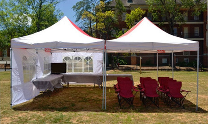 Gameday Done Right - Birmingham: On-Campus University of Alabama Tailgate from Gameday Done Right (Half Off). Three Options Available.