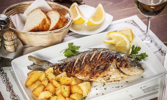 Fins market and grill sacramento ca groupon for Fish market sacramento