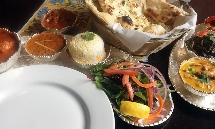 Indiya: Flavors of India - Collingswood: Lunch or Dinner for Two or for Four at Indiya: Flavors of India (Up to 45% Off). Three Options Available.