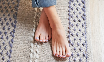 One Pedicure with Optional Brow Wax or Three Pedicures from Brenda Leonard at Urban Hair (Up to 63% Off)