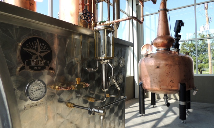 Starlight Distillery - Borden: Distillery Tour, Spirits Tasting, and Pizza: Starlight Distillery at Huber's Orchard & Winery  (50% Off)