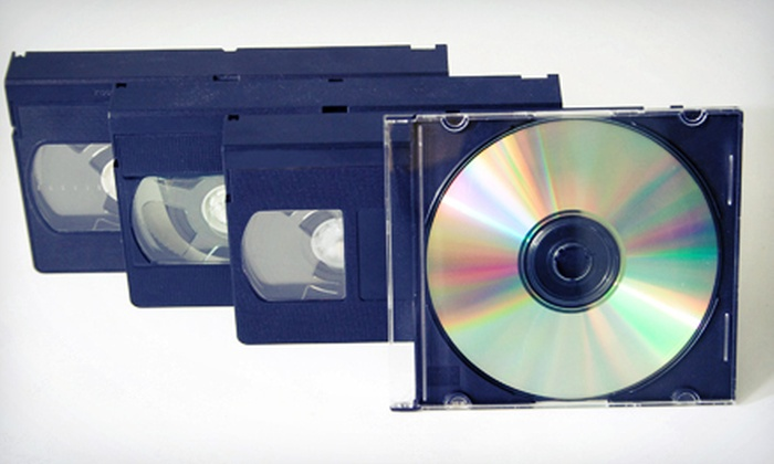 Royal Gor Studio - Burbank: Two or Four Hours of Tape-to-DVD Conversion from Royal Gor Studio (Up to 85% Off)