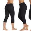Marika Women's Dash Embossed Print Capri Leggings