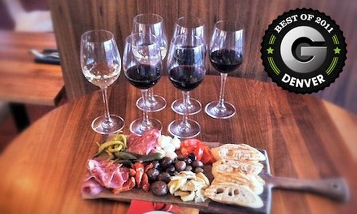 Indulge Bistro & Wine Bar - Littleton: Antipasti and Wine Flights for Two, Four, or Six at Indulge Bistro & Wine Bar in Highlands Ranch (Up to 55% Off)