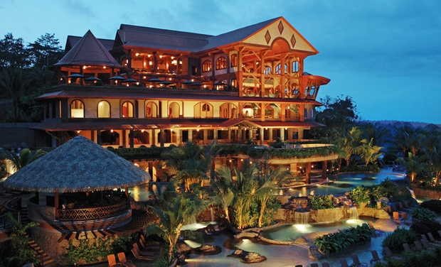 TripAlertz wants you to check out 3- or 4-Night Stay for Two, Four, or Six at The Springs Resort & Spa in La Fortuna, Costa Rica. Combine Up to 8 Nights. 5-Star Hilltop Resort near Arenal Volcano - 5-Star Arenal Volcano Resort