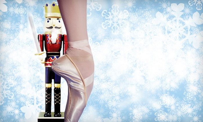 "Ajkun Ballet Theatre presents ""The Nutcracker"" - Whitney Theater: $18 for Two to See Ajkun Ballet Theatre's Production of ""The Nutcracker"" at Whitney Theater (Up to $30 Value)"