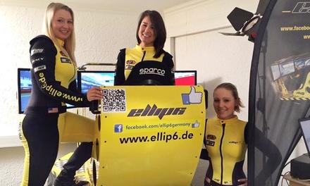 60 Min. Training im High-End-Motorsportsimulator inkl. Getränk für 2 oder 4 Personen bei Ellip6 (bis zu 57% sparen*)